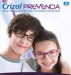 Kids wearing Crizal Prevencia gear